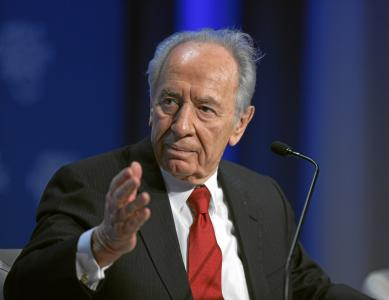 Shimon Perez (Bilde: World Economic Forum (Creative Commons Attribution-ShareAlike))
